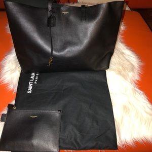 Saint Laurent shopper black tote.
